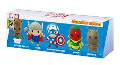 Marvel 2015 SDCC Foam Key Ring Set 5 Piece -- Check out this great product. Monogram Keychain, Nightmare Before Christmas, Key Rings, Captain America, Toy Chest, Action Figures, Geek Stuff, Marvel, Gifts