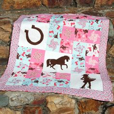 Lil' Cowboy and Lil' Cowgirl quilt patterns have arrived!