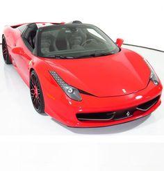 Drop dead gorgeous Ferrari 458. Just look at those sexy wheels! #FerrariFriday