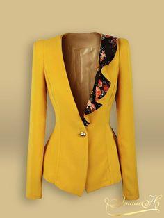 Женский летний пиджак сшить