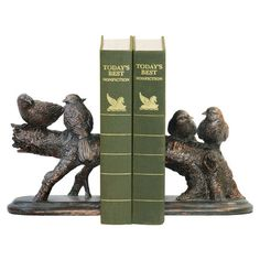 Birds on a Branch Bookends.