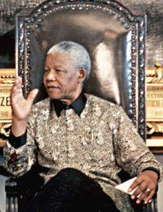Julius Caesar and Nelson Mandela