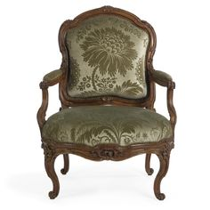 c1760 A Louis XV/Louis XVI carved beechwood fauteuil à la reine attributed to Jean Boucault circa 1760 100,000 — 150,000 USD LOT SOLD. 446,500 USD (Hammer Price with Buyer's Premium)