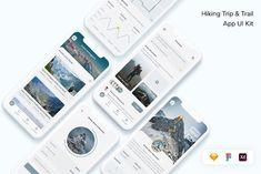 Adobe Xd, Ui Elements, Vector Shapes, Ui Kit, App Ui, Modern Design, Wordpress, Hiking, Templates