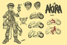 Akira Kaneda by petipoa.deviantart.com on @deviantART