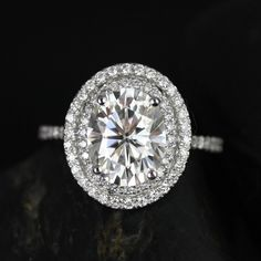 Engagement ring by Rosados Box by Love & Promise Jewelers