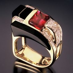 Men's Ring RANDY POLK DISEÑOS beautiful