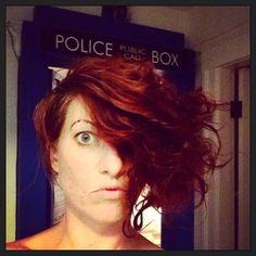 Amanda Palmer has the coolest hair!