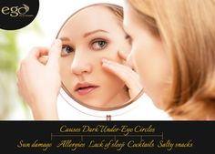#fact : Causes #Dark Under-Eye Circles. Via: http://www.goego.in