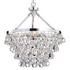 Indoor 5-light Luxury Crystal Chandelier - Overstock™ Shopping - Great Deals on Otis Designs Chandeliers & Pendants