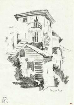 Dibujos del Natural 1991: Casa Rural