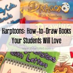 Super Fun Drawing Books for Students!