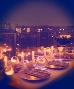 Enjoy a dinner party with Philips Wish LED Candle. #LED
