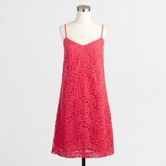 Factory lace slip dress valued at $84.50 sale price $42.00
