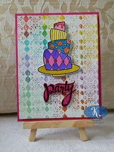 K's Kards and Krafts: Party Cake