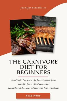 Learn what you need to do to successfully make the switch to the carnivore diet. What does a well balanced diet look like and why do people choose to follow the animal based diet? #carnivorediet #carnivore #jennifermichelleco Protein Diets, No Carb Diets, Drop Weight Fast, Zero Carb Diet, Rheumatoid Arthritis Diet, Meat Diet, Most Nutritious Foods, Healthy Aging, Diets For Beginners