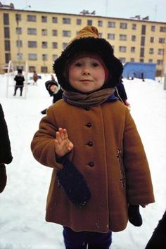 Child in Murmansk - Dean Conger