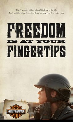 Freedom is at YOUR fingertips