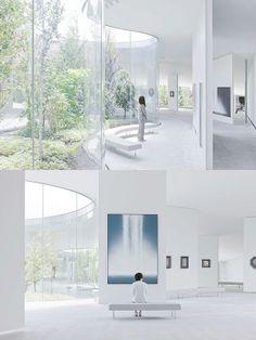 Hiroshi Senju Museum by Ryue Nishizawa