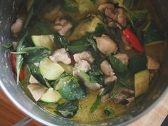Thai Green Curry with Fish and Long Beans | Recipe | Long Bean, Green ...