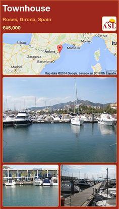 Townhouse in Roses, Girona, Spain ►€45,000 #PropertyForSaleInSpain