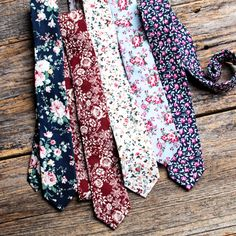 Find a floral tie in every color. Shop our site for even more styles. From skinny to bow ties, we have it all.