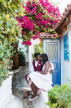A Honeymoon Photoshoot in Athens, in some of our favourite places in the old region underneath Acropolis. This will make you dream of the Greek islands! Greece Honeymoon, Greece Wedding, Athens Greece, Beautiful Couple, Greek, Photoshoot, Vacation, Couples, Amazing