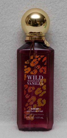 da71b4ec446c Bath   Body Works Wild Madagascar Vanilla Sheer Perfume Mist 6 fl oz