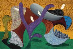 David Hockney, The Fifth V.N. Painting