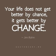 Change not Chance! #quote #change #counseling