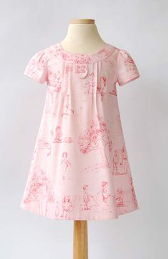 Cape Ann Fabric and Family Reunion Dress: sweet dress pattern from Oliver + S Little Girl Outfits, Cute Outfits For Kids, Little Girl Dresses, Girls Dresses, Summer Dresses, Sewing For Kids, Baby Sewing, Clothing Patterns, Dress Patterns