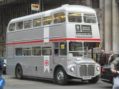 650 DYE London Bus, Old London, Enfield Middlesex, Routemaster, Double Decker Bus, Bus Coach, London Transport, Guess, Great Britain