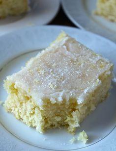 Lemon Sheetcake