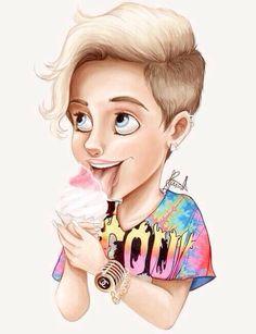 Cartoon Miley