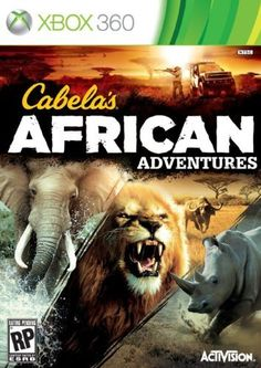 Cabelas African Adventures  Xbox 360 by Activision * Details can be found by clicking on the image.(It is Amazon affiliate link) #handsome