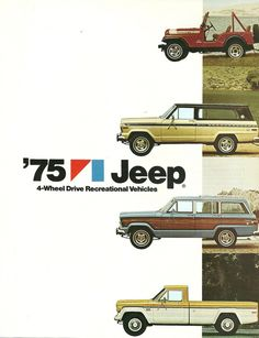 I love the classic Jeeps! I had the first and last one. Loved them!