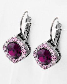 Raspberry Pink Earrings