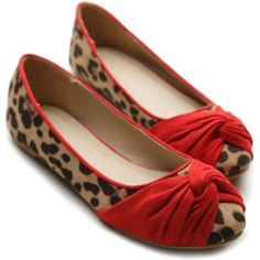 Ollio Womens Ballet Flats Loafers Bowed Comfort Faux-Suede Leopard Shoes on  Wanelo 6d57e1431f