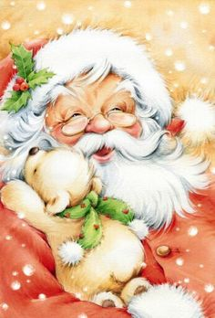 I think this was the cover of one of my Christmas coloring books I had when I was a little girl.
