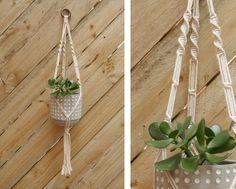 plant hanger macrame #10