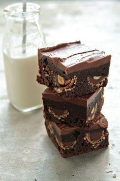 Nutella Brownies   MyBakingAddiction.com