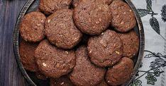 Biscuits au chocolat faibles en glucides, mais délicieusement décadents - Desserts - Ma Fourchette Biscuits, Sixpack Training, Bacon, Nutrition, Keto, Cookies, Chocolate, Ethnic Recipes, Food