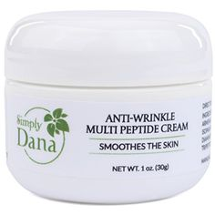 Simply Dana Multi-Peptide Anti-Wrinkle Cream adds the innovative properties of Multi Peptide Serum with the intense moisturizing benefits of Jojoba Oil, Apricot Kernel Oil, pure Squalane and Hyaluronic Acid. The tested formula has shown a reduction of wrinkles by up to 50% within 28 days.
