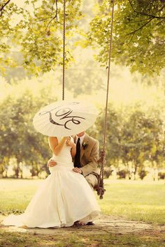 I'm not one for super pose-y pictures, but I love parasol and the swing!