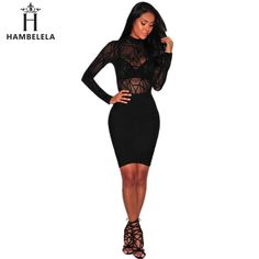 7b20a642bc88 HAMBELELA 2017 New Hot Sale Summer Women Jumpsuit Long Sleeve O-Neck Top  Rompers For Women Bodysuit Bandage Sexy Jumpsuit