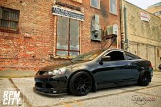 Loving this BLACK #RSX Acura RSX - http://rpmcity.com/2014/03/loving-this-black-rsx-acura-rsx/