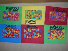 Tapa Gaudí 3r trimestre escola Sant Just 2014-2015 P5 Antoni Gaudi, Art Projects, Logos, School 2017, Mosaics, Barcelona, Children, Early Education, Art Lessons