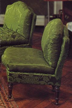 gorgeous green chairs