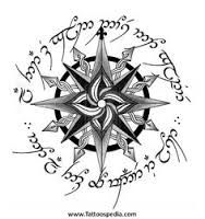Image result for lord of the rings compass