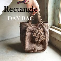 Day Bag, Crochet Bags, Lana, Straw Bag, Purses And Bags, Knitting Patterns, Sewing, Crochet Purses, Hampers